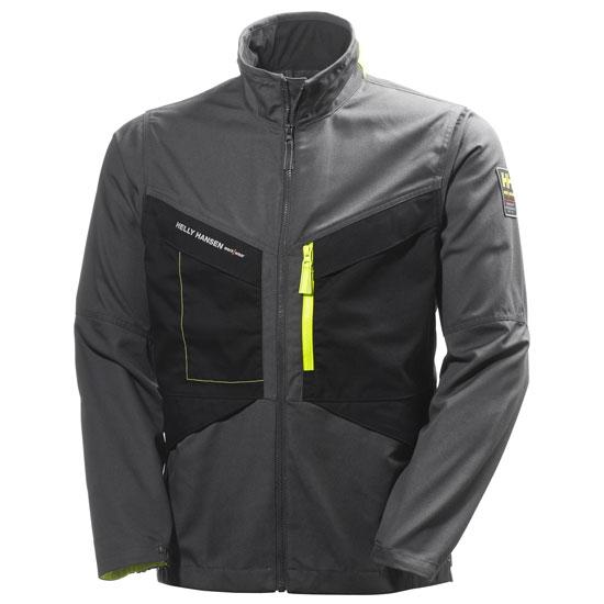Helly Hansen Workwear Aker Jacket - Dark Grey/Black