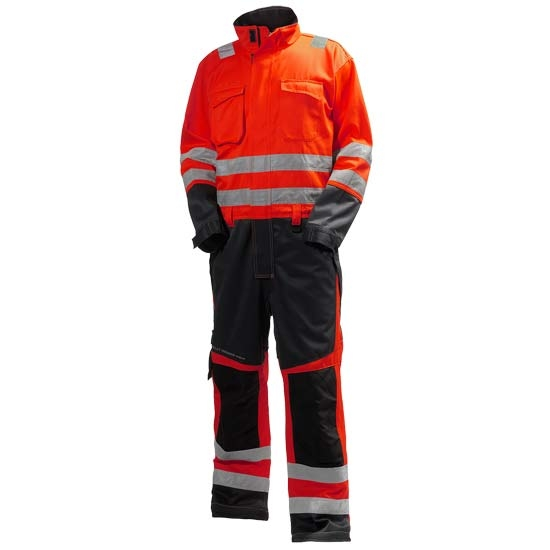 Helly Hansen Workwear Alna Suit - Red/Charcoal