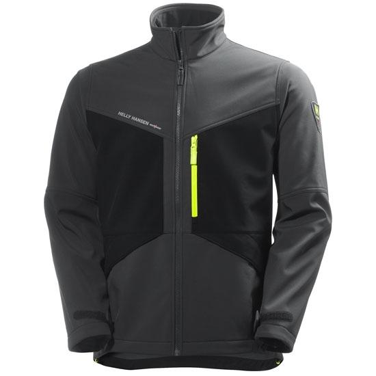 Helly Hansen Workwear Aker Softshell - Dark Grey/Black