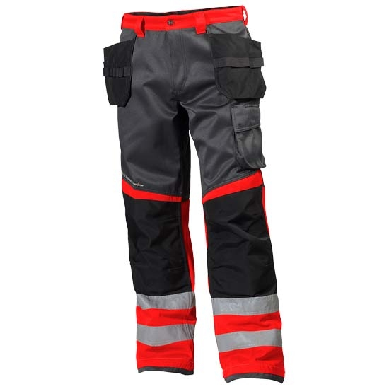 Helly Hansen Workwear Alna Cons Pant CL 1 - Red/Charcoal