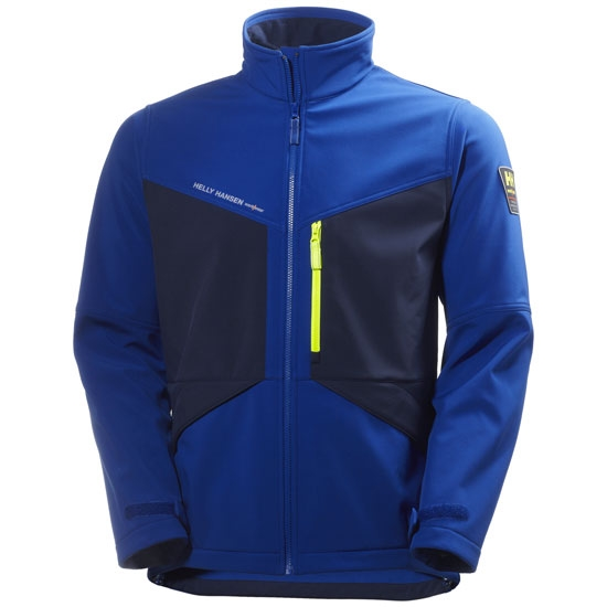 Helly Hansen Workwear Aker Softshell - Cobalt/E.Blue