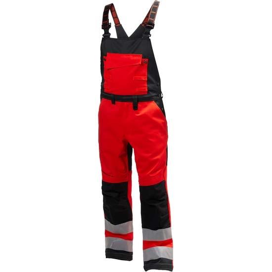 Helly Hansen Workwear Alna Bib - Red/Charcoal