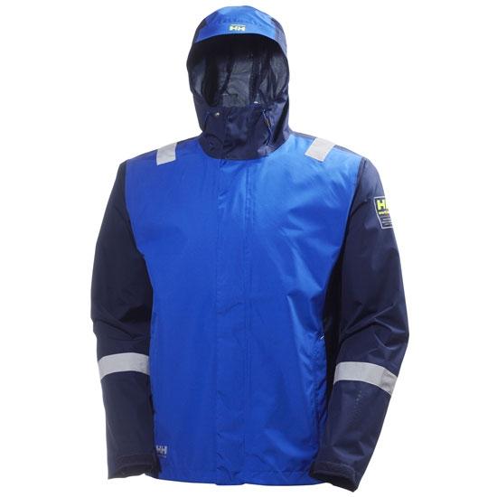 Helly Hansen Workwear Aker Shell Jacket - Cobalt Blue/Evening Blue
