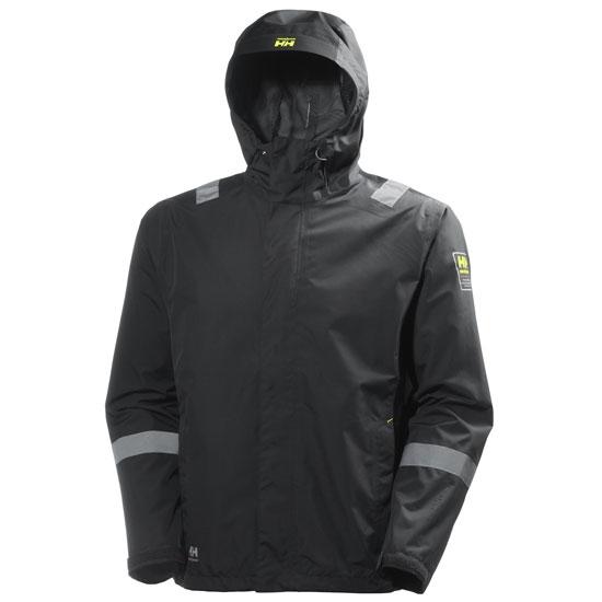 Helly Hansen Workwear Aker Shell Jacket - Dark Grey/Black