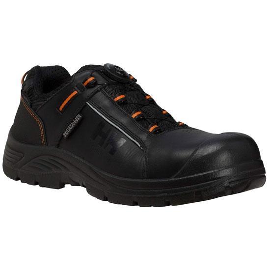 Helly Hansen Workwear Alna Leather Boa - Black/Orange