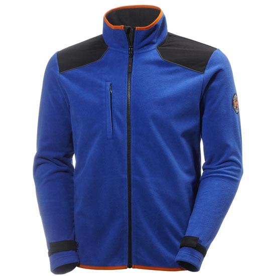 Helly Hansen Workwear Chelsea Wind Fleece - Cobalt/Black