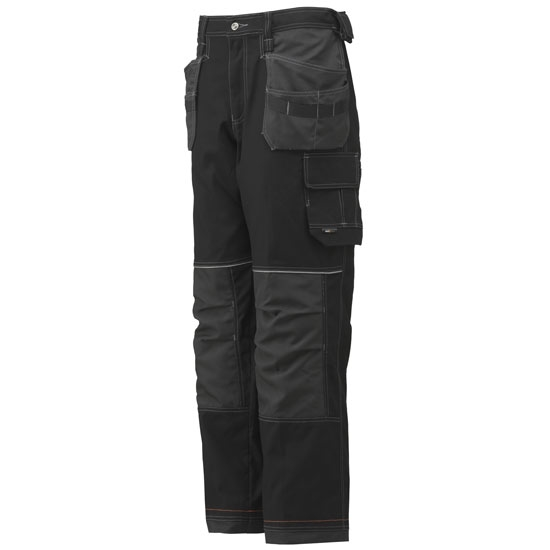 Helly Hansen Workwear Chelsea Construction Pant - Black/Charcoal