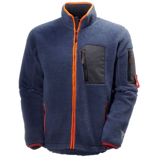 Helly Hansen Workwear MjØlnir Windpile Jacket - Deep Steel