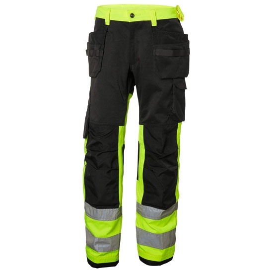 Helly Hansen Workwear Alna Cons Pant CL 1 - HV Yellow/Charcoal