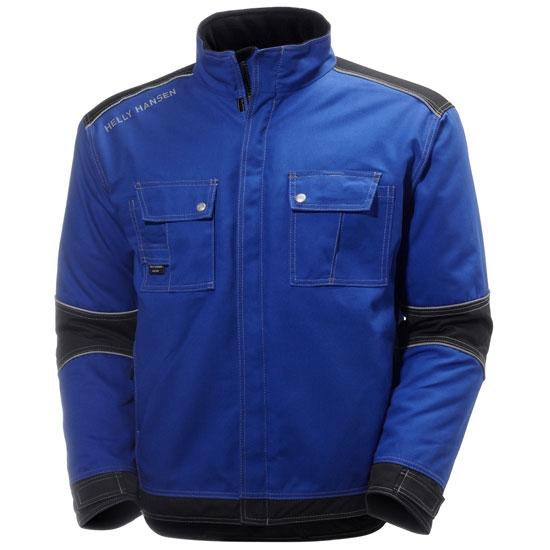 Helly Hansen Workwear Chelsea Lined Jacket - Cobalt/Black