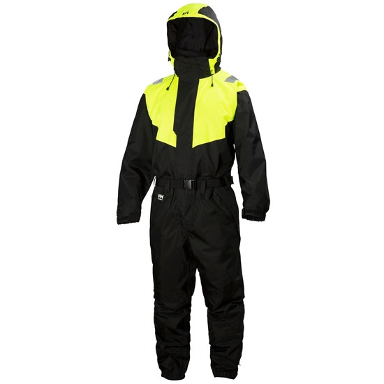 Helly Hansen Workwear Leknes Suit - Black/Yellow