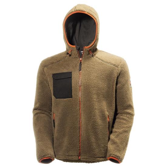 Helly Hansen Workwear Chelsea Pile Jacket - Timber/Black