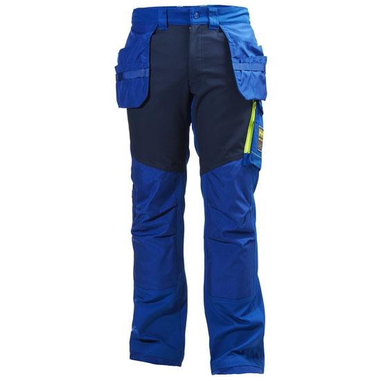 Helly Hansen Workwear Aker Cons Pant - Cobalt Blue/ Evening Blue