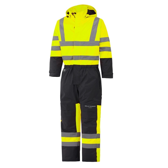 Helly Hansen Workwear Alta Insulated Suit - Yellow/Charcoal