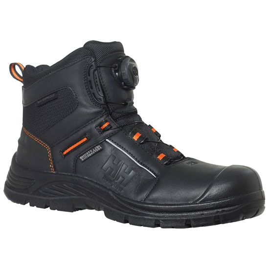 Helly Hansen Workwear Alna Boa Mid - Black/Orange