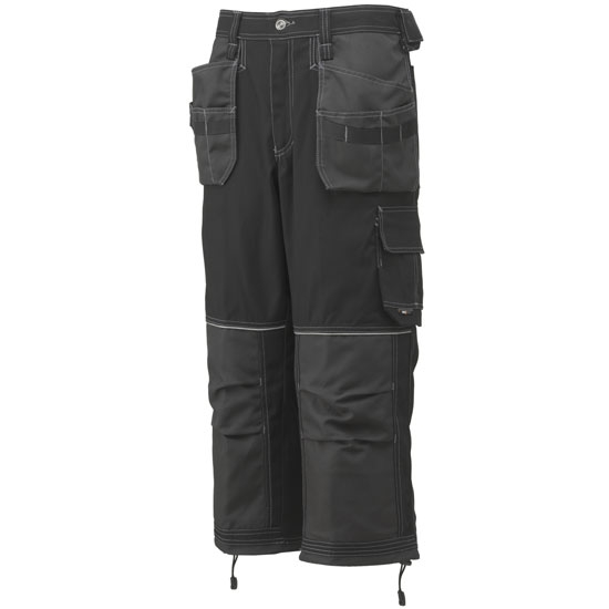 Helly Hansen Workwear Chelsea Construction Pirate Pant - Black/Charcoal