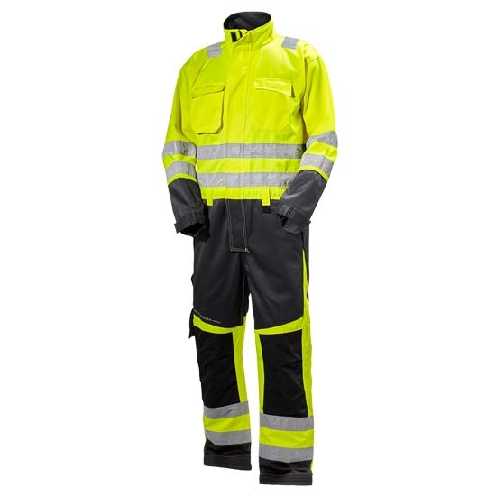 Helly Hansen Workwear Alna Suit - Yellow/Charcoal