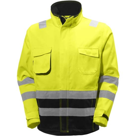 Helly Hansen Workwear Alna Jacket - Yellow/Charcoal