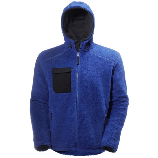 Helly Hansen Workwear Chelsea Pile Jacket - Cobalt/Black