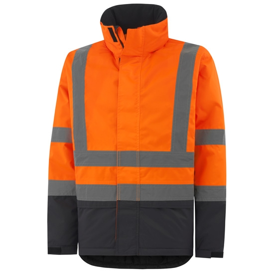 Helly Hansen Workwear Alta Insulated Jacket - Orange/Charcoal