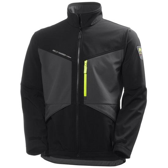 Helly Hansen Workwear Aker Softshell - Black/Charcoal
