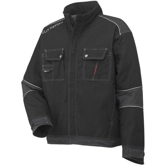 Helly Hansen Workwear Chelsea Lined Jacket - Black/Charcoal