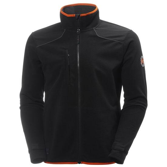 Helly Hansen Workwear Chelsea Wind Fleece - Black/Charcoal