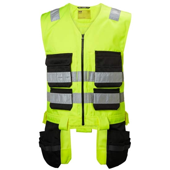 Helly Hansen Workwear Alna Cons Vest - Yellow/Charcoal