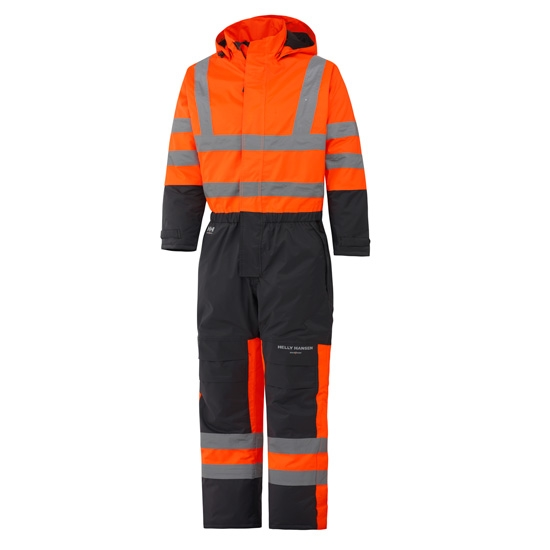Helly Hansen Workwear Alta Insulated Suit - Orange/Charcoal