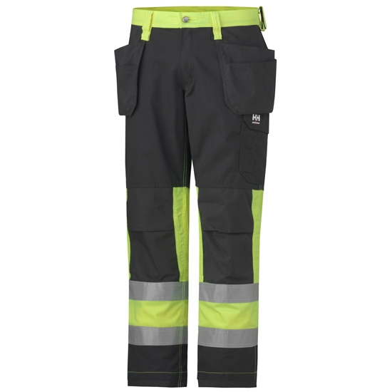 Helly Hansen Workwear Alta Construction Pant CL1 - Yellow/Charcoal