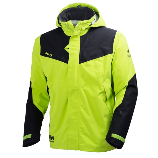 Helly Hansen Workwear Magni Shell Jacket - Dark Lime