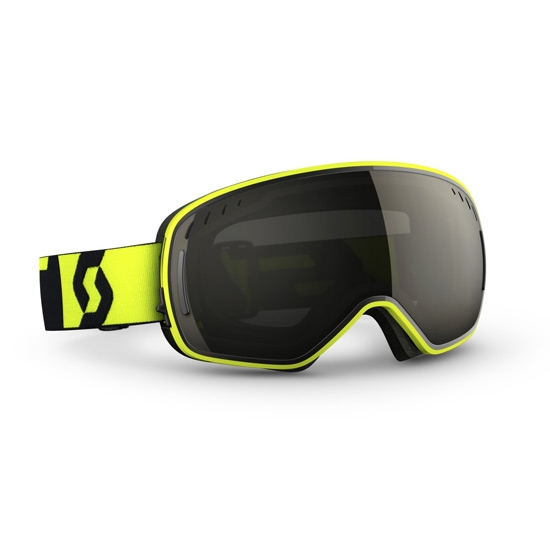 Scott LCG Goggle Solar + Illuminator - Neon Yellow