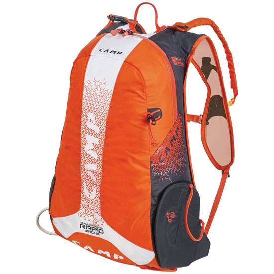 Camp Rapid Racing - Orange/White