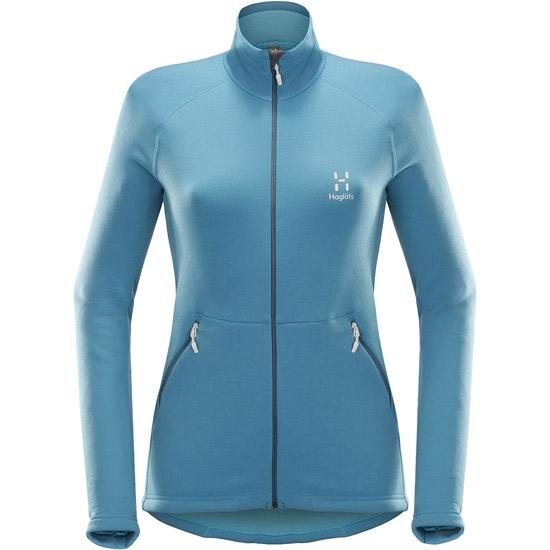 Haglöfs Bungy Jacket W - Blue Fox