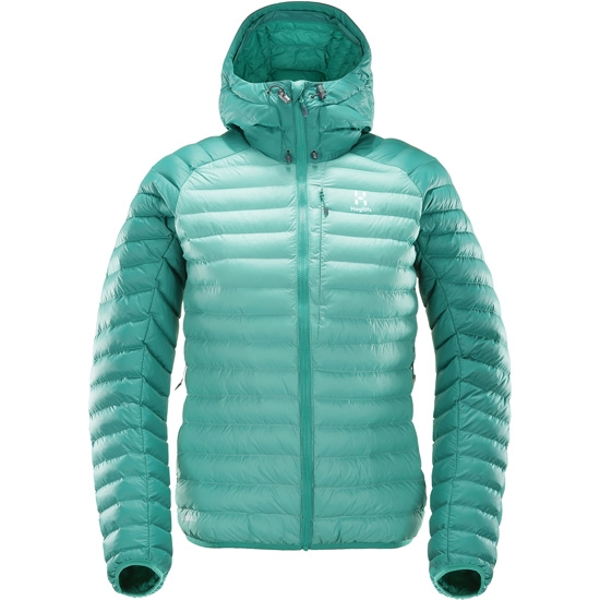 Haglöfs Essens Mimic Hood W - Jade/Crystal Lake