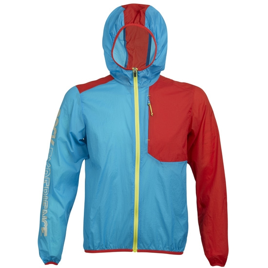 Rock Experience Ultra Jacket - Azul/Rojo