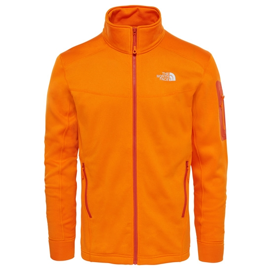 The North Face Hadoken Full Zip Jacket - Orange