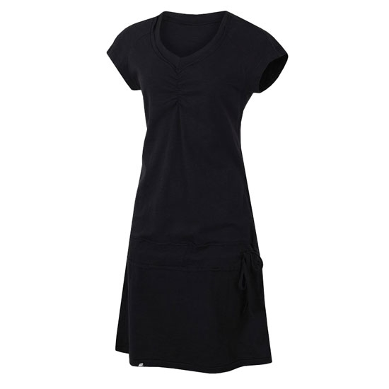 Hannah Catia Dress - Anthracite