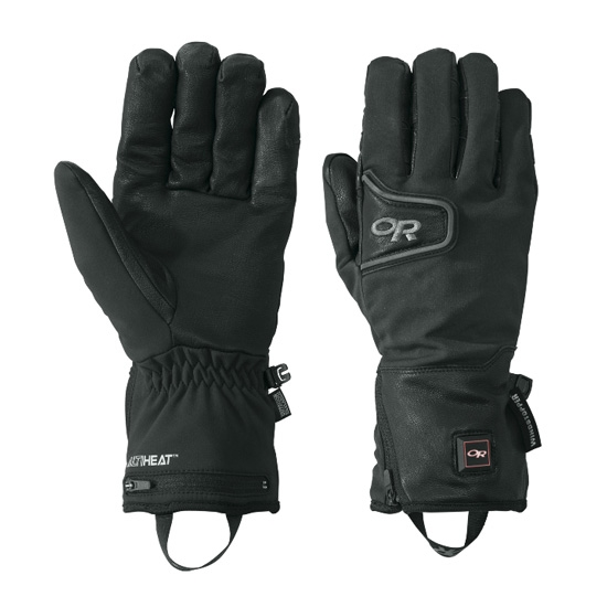 Outdoor Research Stormtracker Heated Gloves - Black