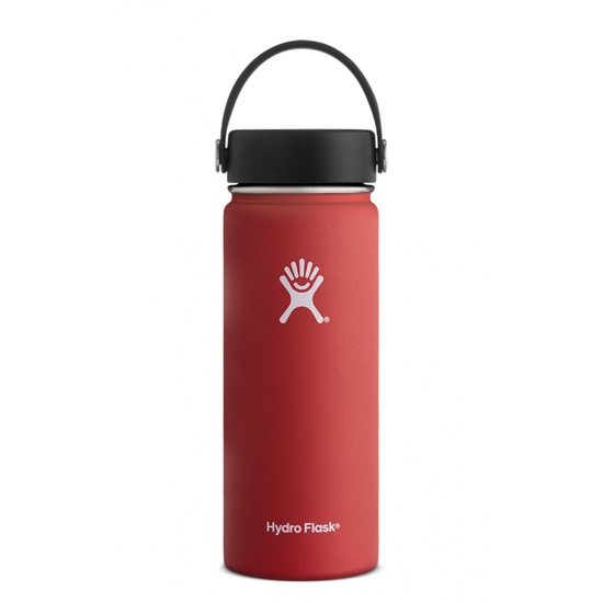 Hydro Flask 18oz Wide Mouth - Lava