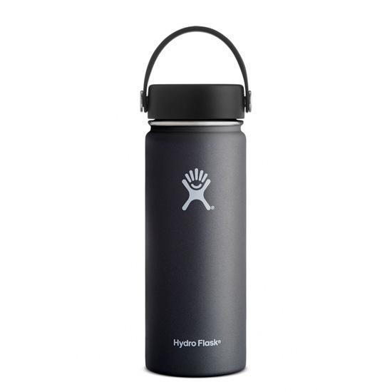 Hydro Flask 18oz Wide Mouth - Black