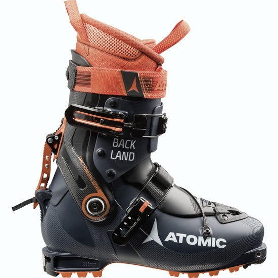 Atomic Backland - Dark Blue/Orange/Black