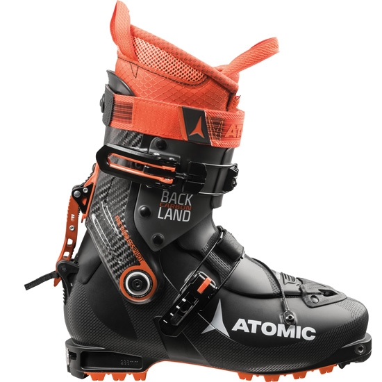 Atomic Backland Carbon Thermoformable - Black/Anthracite/Orange