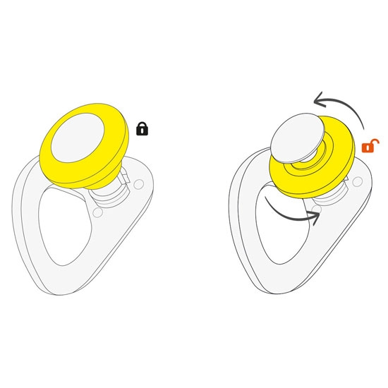 Petzl Coeur Pulse 12 mm - Photo of detail