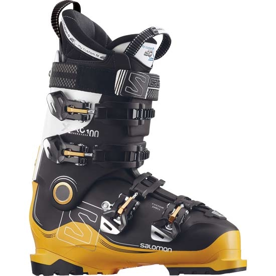 Salomon X Pro 100 Thermoformable - Black/Safran/White