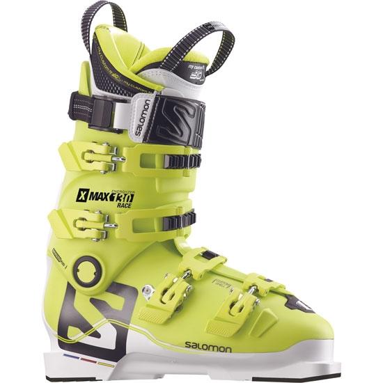 Salomon X Max Race 130 Thermoformable - Acide Green/White/Black