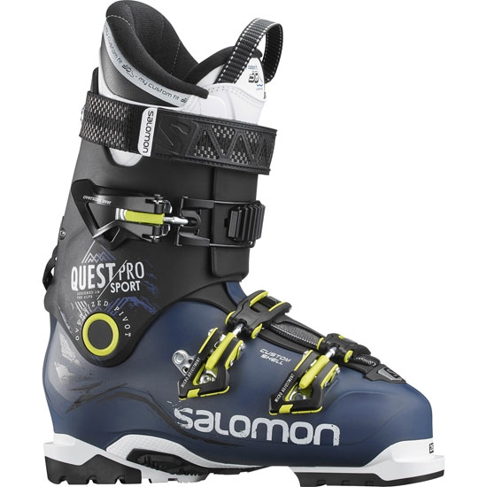 Salomon Quest Pro CS Sport Thermoformable - Petrol Blue/Black/Acid Green