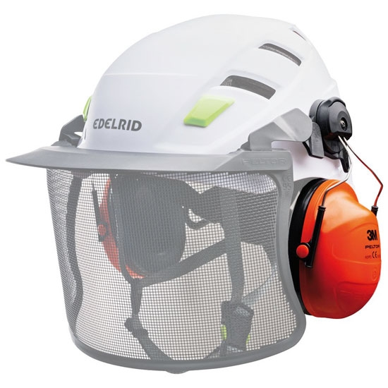 Edelrid Ear Protection Peltor Euroslot - Detail Foto