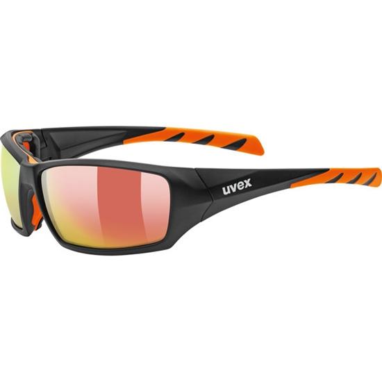 Uvex Sportstyle 308 S4 - Black Matt Orange