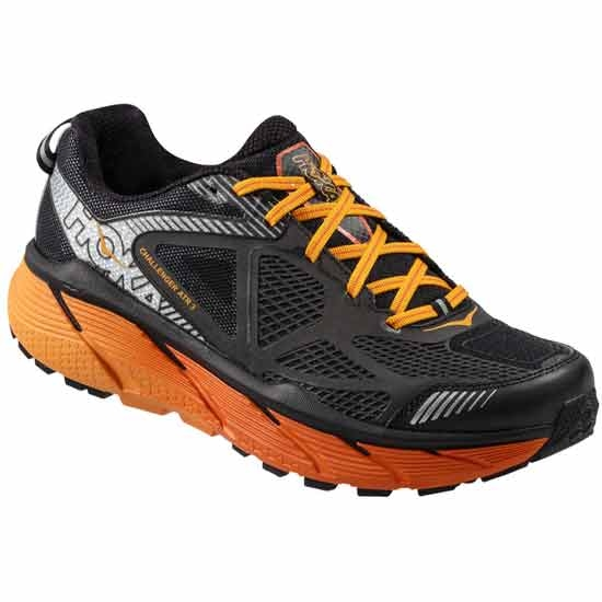Hoka One One Challenger ATR 3 - Black/Red Orange